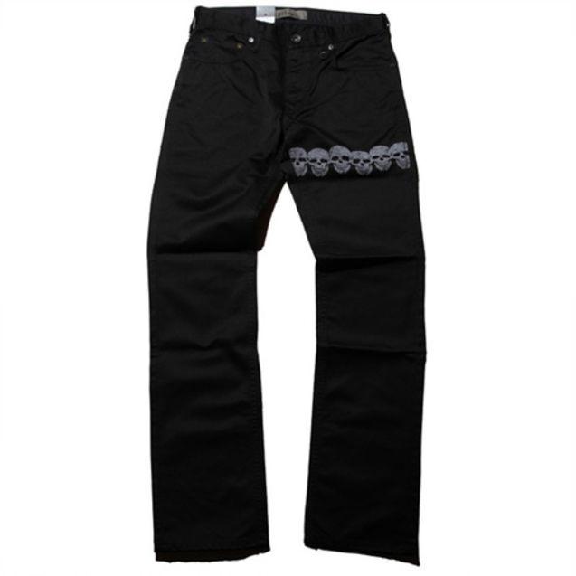 日本 levi/全球知名牛仔品牌Levis日本推出Levis 511款式的牛仔裤,以骷髅...