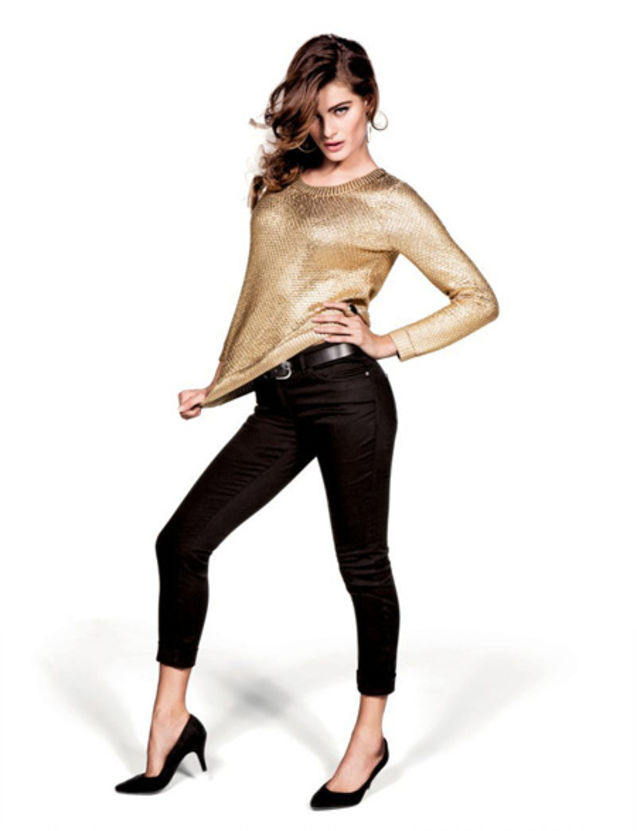 服装 h&m2012/本季,瑞典快速消费品牌H&M大手笔找来Sasha Pivovarova、...