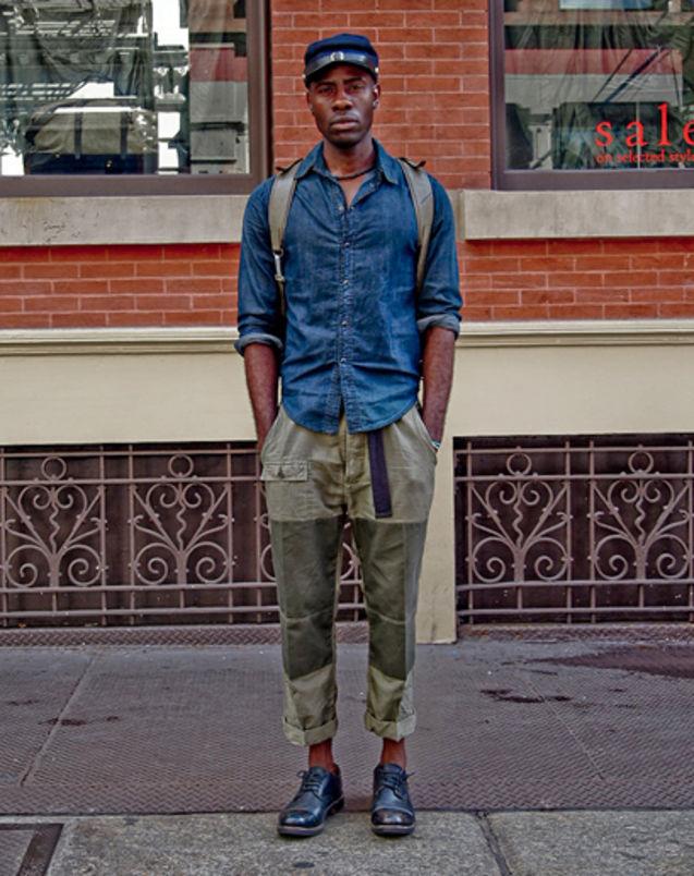 街拍 个性 纽约/#潮拍# Ben Ferrari ,2012,7月纽约街拍