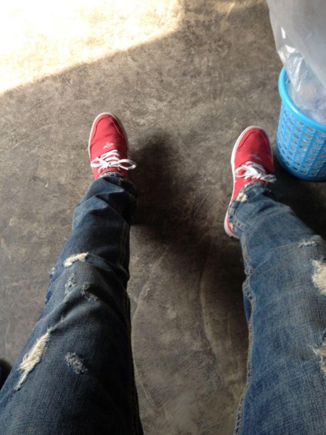 个性 魔术贴/#潮拍晒物# $CreativeRecreationCCESARIOLOXVI魔术贴硫化鞋...