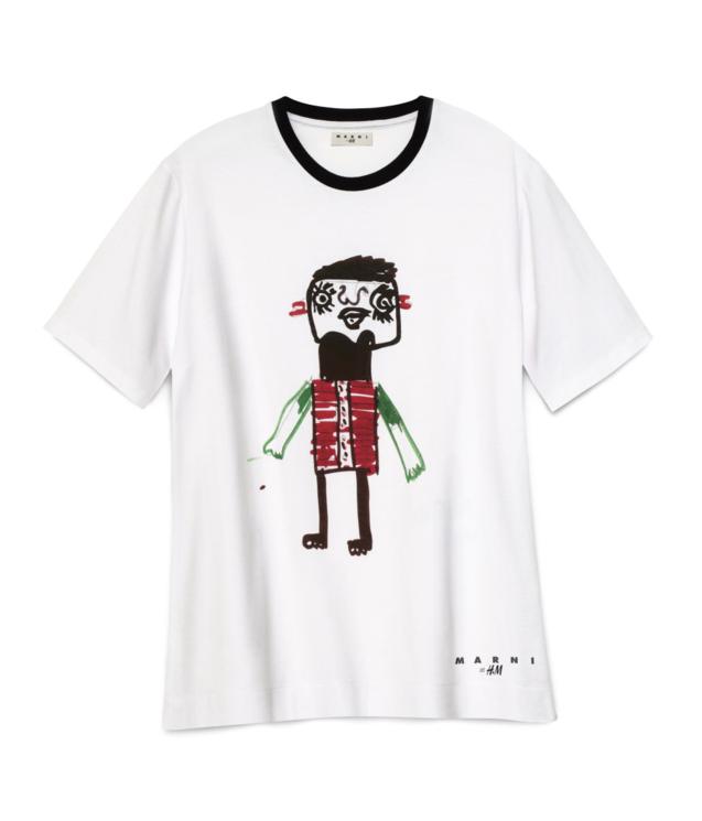 卡通 街拍/女士卡通小人T恤衫