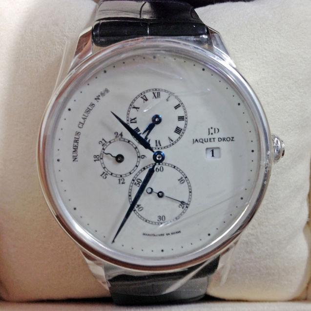 个性 街拍/全球限量Jaquet Droz雅克德罗男士手表机械表