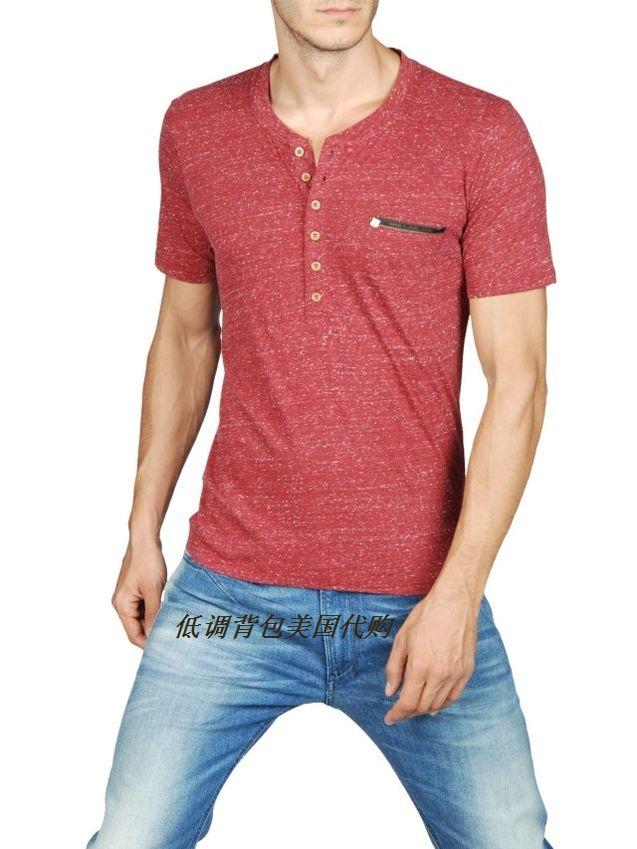 美国 个性/美国代购Diesel 迪赛 正品2013春夏混色休闲棉混纺T恤男款T恤