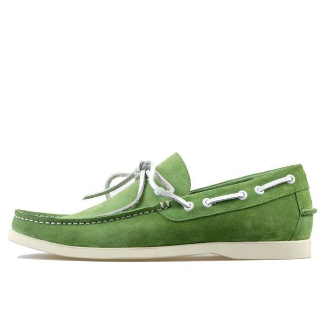 黄色 时尚 喜欢/休闲鞋男鞋子潮时尚帆船鞋男士懒人驾车鞋