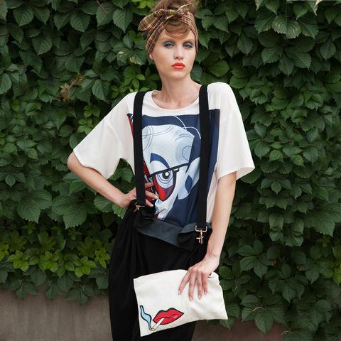 欧美 性感 街拍/两三事 红唇,红唇 2013新款女装包包欧美时尚性感嘴唇包包