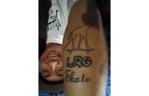 纹身 街拍/各地潮流品牌纹身一览