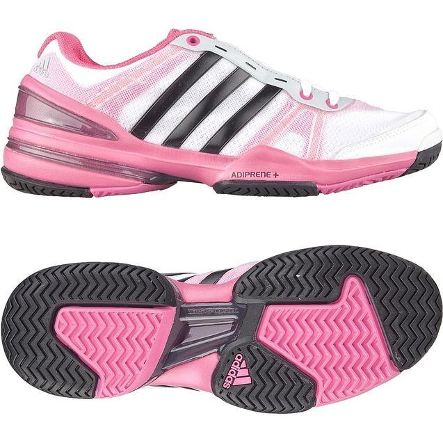 个性 苏黎世/adidas 阿迪达斯网球女子 网球鞋 亮白G95173