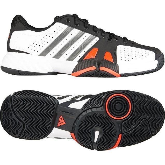 商城/adidas 阿迪达斯六折网球男场上网球鞋 亮白G45562