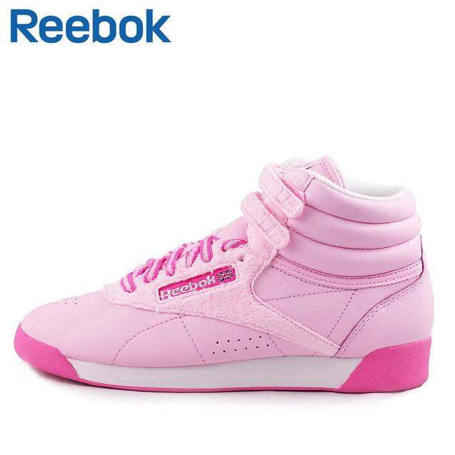 个性 锐步/Reebok锐步女子freestyle高帮健身鞋板鞋 J83464