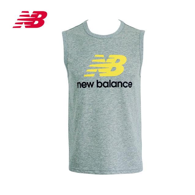 个性 针织/New Balance/新百伦公司男衣针织背心NG368011休闲运动健身...