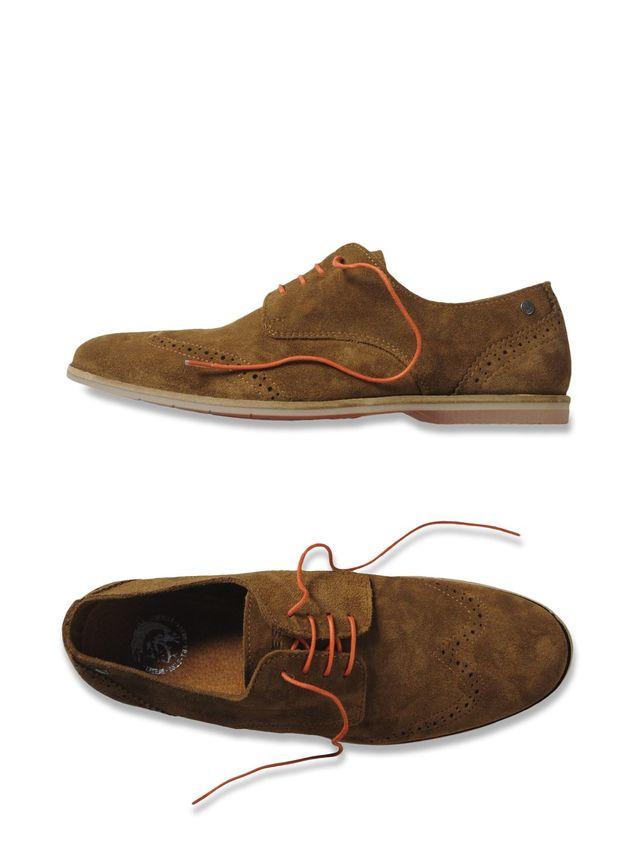个性 正品/正品代购Diesel GRAHL 迪赛休闲男鞋绒面100%小牛皮折扣