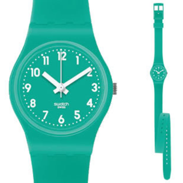 个性 swatch/Swatch 薄荷绿