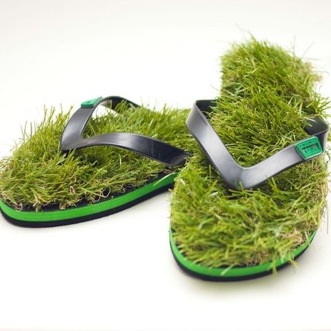设计 人字拖/Kusa Grass草鞋人字拖夹脚草皮沙滩鞋户外拖鞋凉鞋夹脚海滩度假