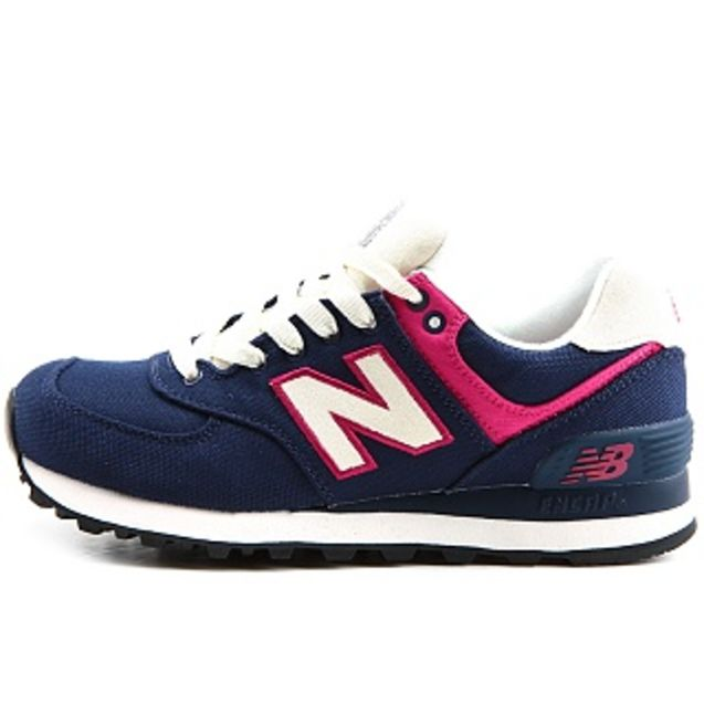 思奇/韩国代购正品 NEW BALANCE WL574RUN蓝色粉色女款运动鞋