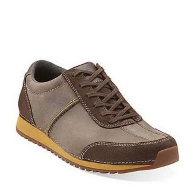 个性 街拍/美国代购正品Clarks/其乐Nexie Flow舒适运动休闲男鞋2色