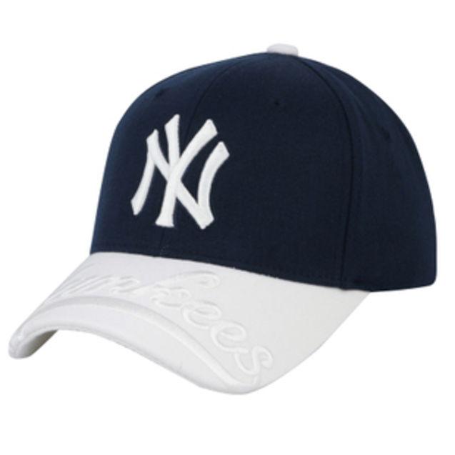 个性 男女 rmb/MLB正品棒球帽NY洋基队休闲帽男女时尚鸭舌帽子韩国代购牛仔...