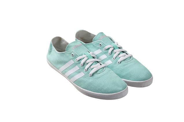 个性 街拍/(女)薄荷绿帆布鞋F37921 RMB369